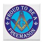 Masonic Pride Tile Coaster