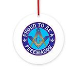 Masonic Pride Ornament (Round)