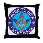 Masonic Pride Throw Pillow