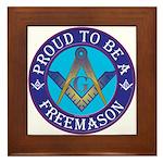 Masonic Pride Framed Tile