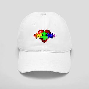 3D Heart Puzzle Cap