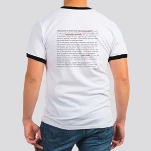 Nicene Creed Two Sided Ringer T