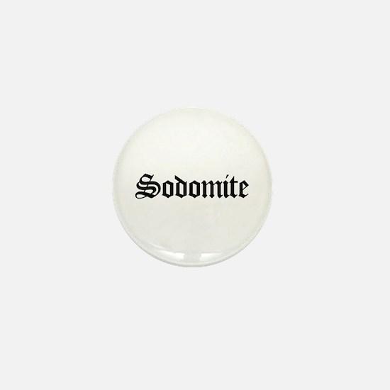Sodomite Mini Button