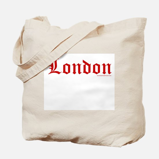 "London ""Old English Red"" - Tote Bag"