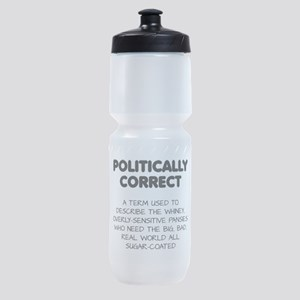 Politically Correct Pansies Sports Bottle