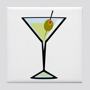 Dirty Martini Tile Coaster