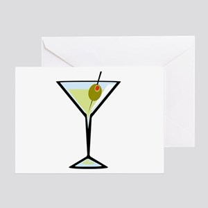 Dirty Martini Greeting Card