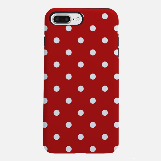 dots-white-red_ff.png iPhone 7 Plus Tough Case