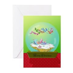 XmasCard_SnowGlobe Greeting Cards