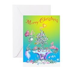 XmasCard_Tree Greeting Cards