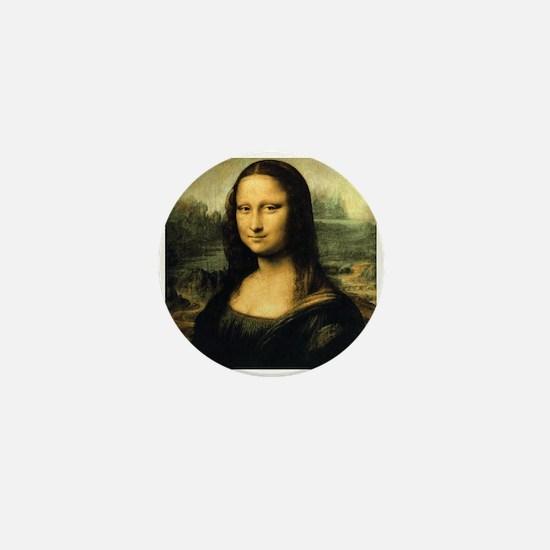 Mona Lisa Mini Button