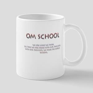 Om School Mug