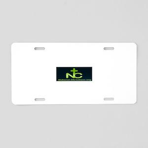 N-C w/link Aluminum License Plate