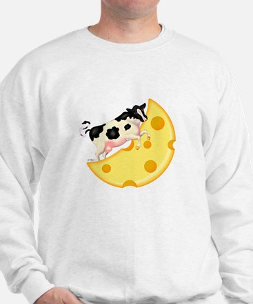 Cow Jumped Over the Cheese Mo Sweatshirt