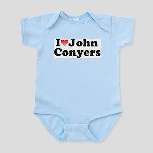 I Love John Conyers Infant Creeper