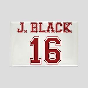 Jacob Black 16 Rectangle Magnet