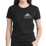 Women's Dark Classic T-Shirt - Front Pocket Lo