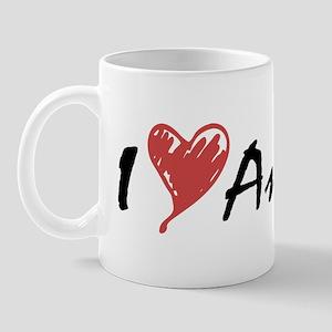 I Heart Anime Mug