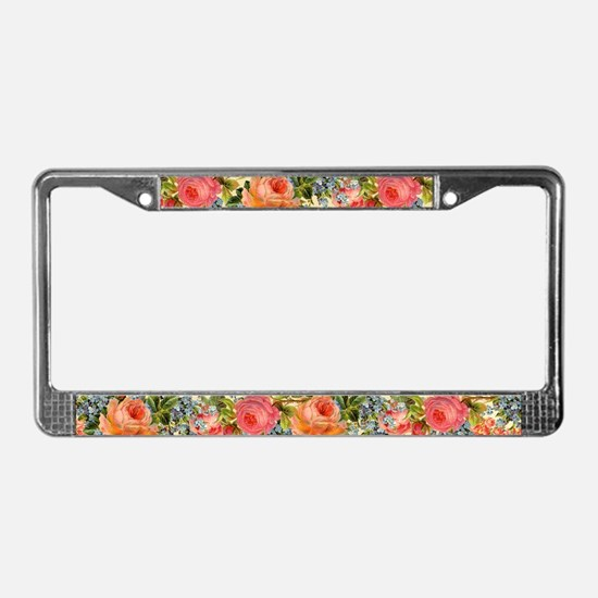 Funny Patterns License Plate Frame