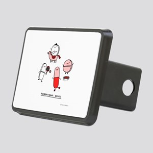 Recreational Drugs Rectangular Hitch Cover