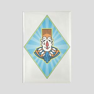 clownA Rectangle Magnet