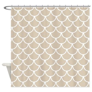 Scaly Shower Curtains