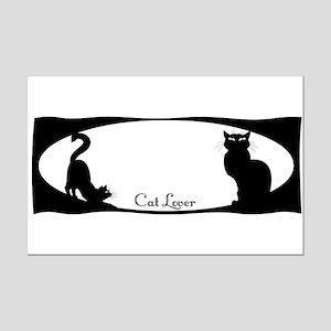 cat lover Mini Poster Print