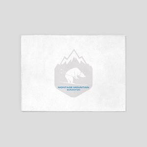 Montage Mountain Ski Resort - Scr 5'x7'Area Rug