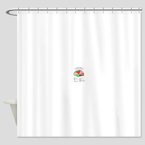 RA Life Shower Curtain
