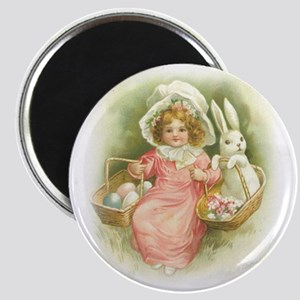 """""""Cute Easter Bunny"""" Magnet"""