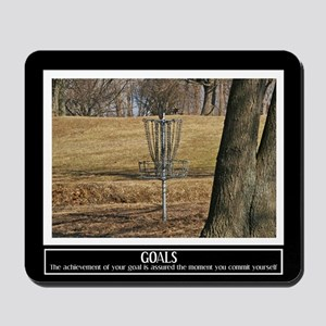 Disc Golf Motivational Mousepad