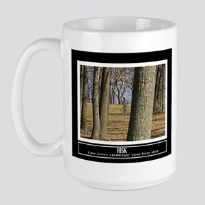 Disc Golfer Motivational Large Mug