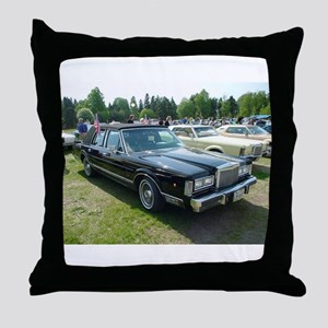 Town Car Throw Pillow