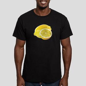 Just Lemons Men's Fitted T-Shirt (dark)