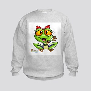 Baby Frog Kids Sweatshirt