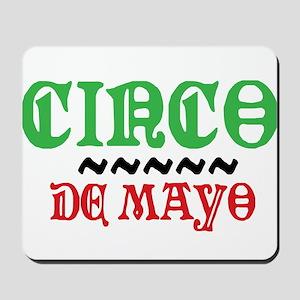 Colorful Cinco De Mayo Mousepad