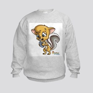 Baby Squirrel Kids Sweatshirt