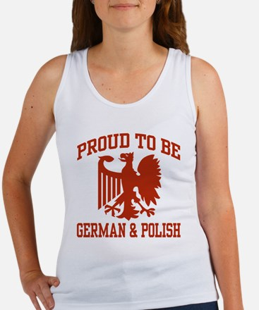 Proud German Polish Women's Tank Top