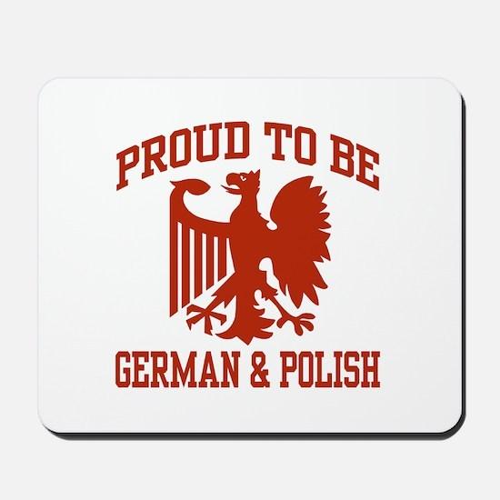 Proud German Polish Mousepad