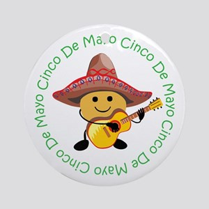 Cute Cinco De Mayo Ornament (Round)