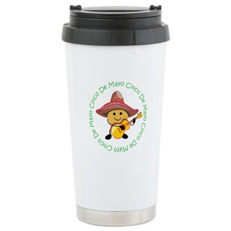 Cute Cinco De Mayo Stainless Steel Travel Mug