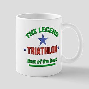 The Legend Triathlon Sports Desi 11 oz Ceramic Mug