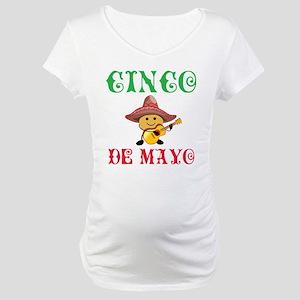 Fun Cinco De Mayo Maternity T-Shirt