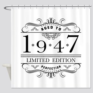 1947 Limited Edition Shower Curtain