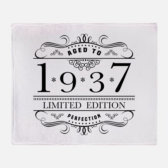 1937 Limited Edition Throw Blanket