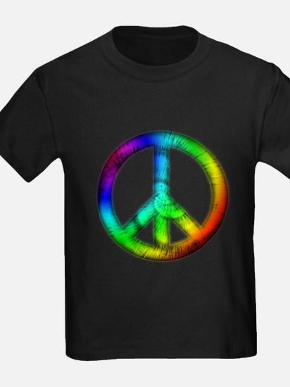 Tie Dye Peace Sign T