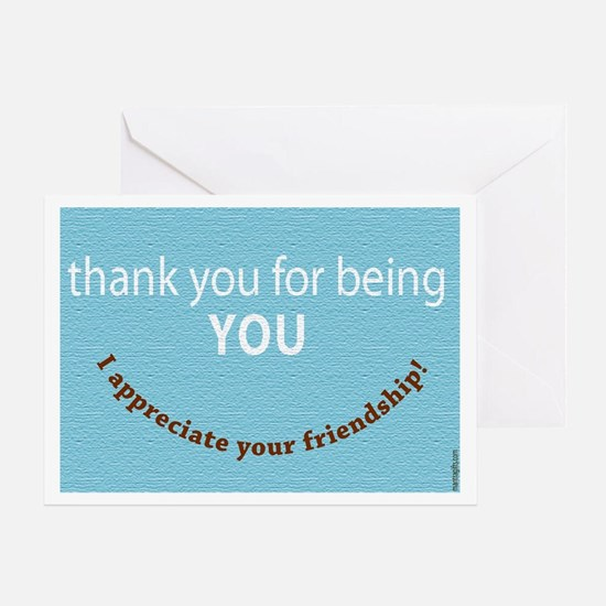 Thank You Friend! Greeting Card