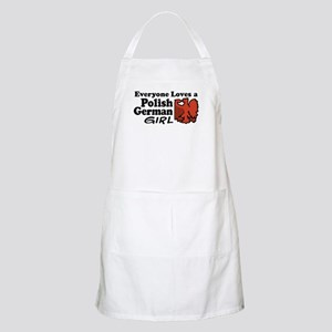 Polish German Girl BBQ Apron