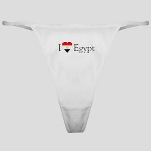 I Love Egypt Classic Thong