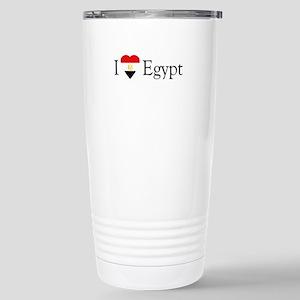 I Love Egypt Stainless Steel Travel Mug
